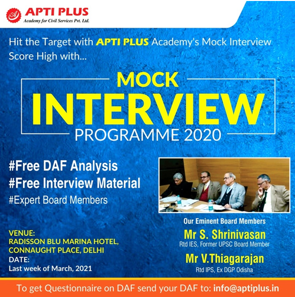 Aptiplus Mock Interview 2021