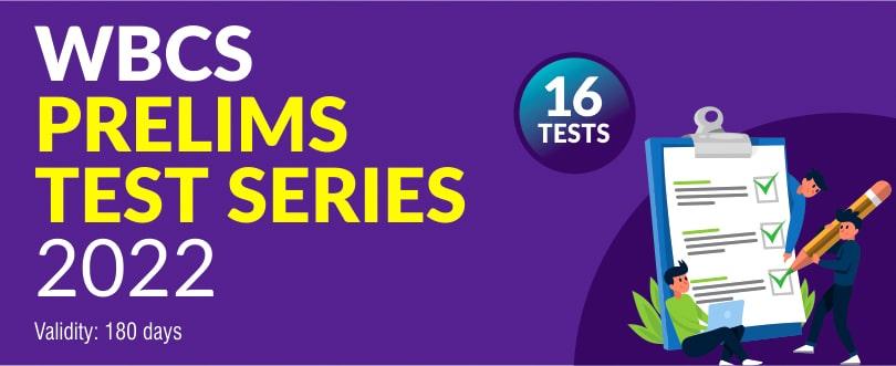 wbcs prelims 22 Test Series
