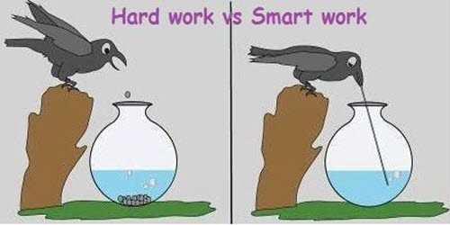 Hard Work Vs. Smart Work