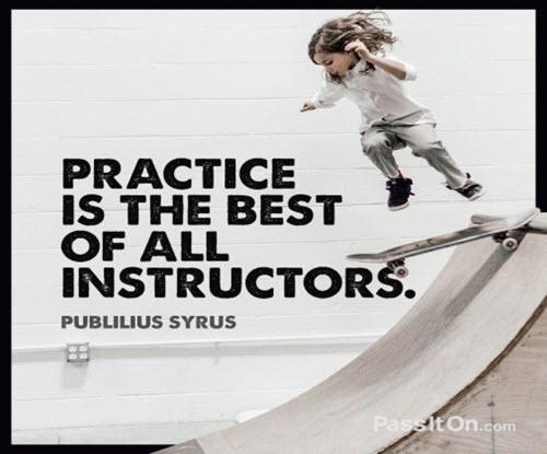 Publilius Syrus on Practice