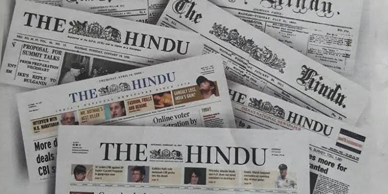 How To Read The Hindu