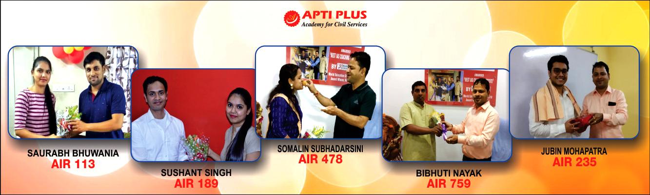 Best IAS Coaching In Bhubaneswar & Kolkata - Apti Plus